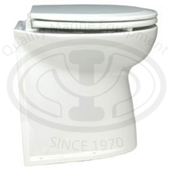 "Deluxe Flush 17"" Straight Back Electric Toilets"